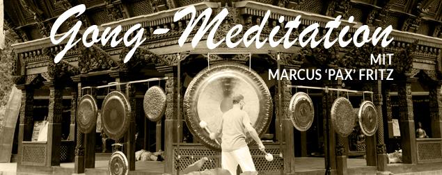 Gong-Meditation bei presentYOGA