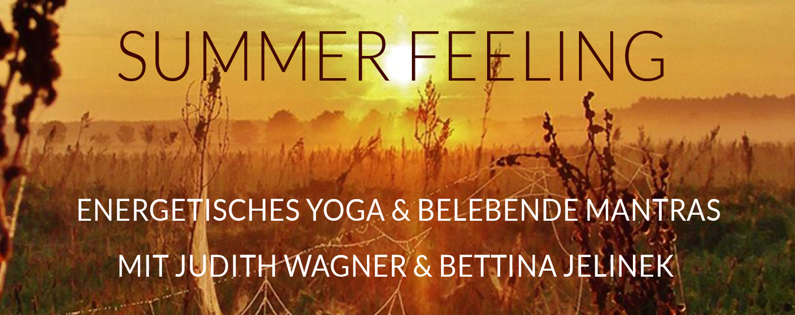SUMMER FEELING bei presentYOGA